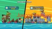 Raft wars 2 players poki Español captura de pantalla